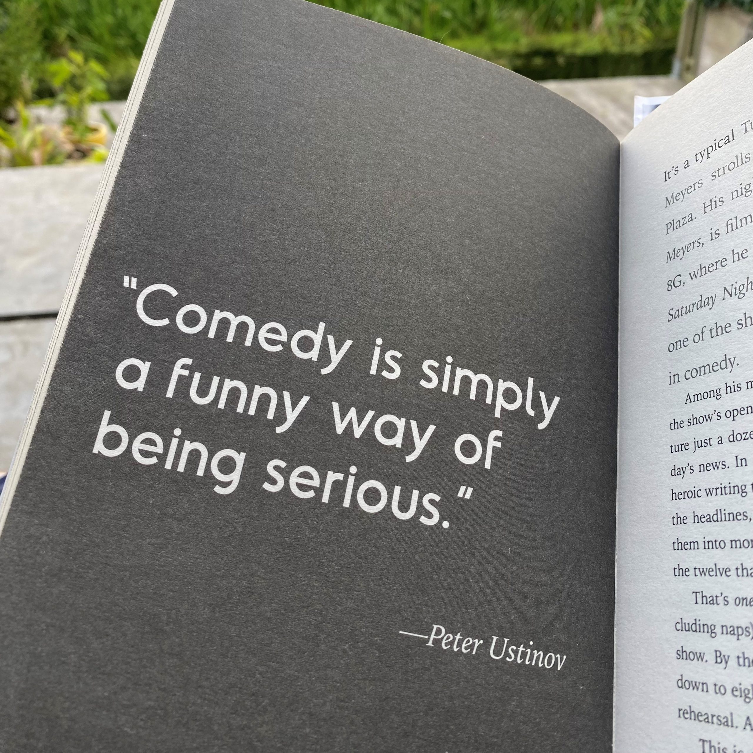 Quote about humour